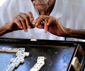 Dominos in Vieques & Puerto Rico