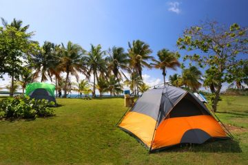 Camping on Vieques