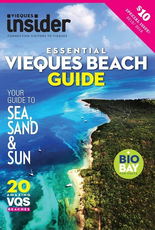 Vieques Insider Printed Beach Guide
